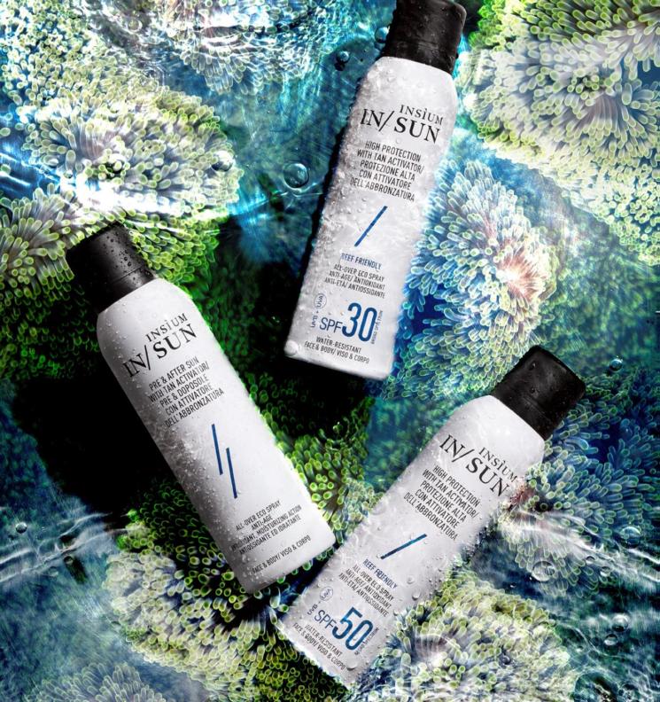 Insìum lancia la nuova linea di Solari Eco Spray In/Sun