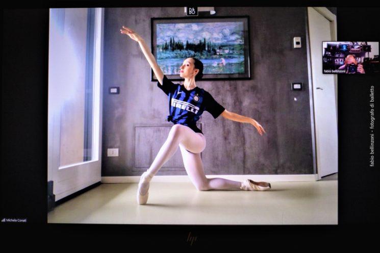 Accademia Ucraina di Balletto di Milano: danza con la maglietta da calcio