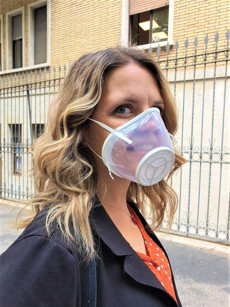 YourMask, la mascherina protettiva trasparente, sostenibile e Made in Italy