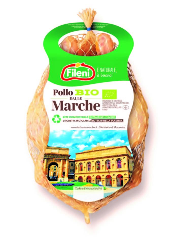 Nuovo Pollo dalle Marche Bio firmato Fileni