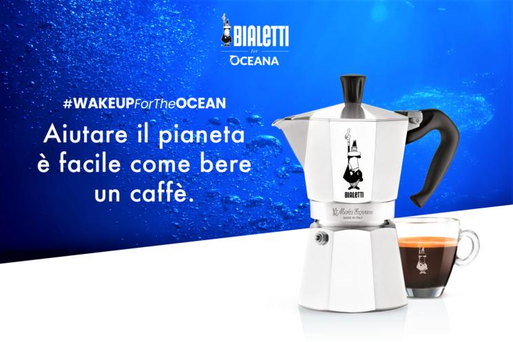 Bialetti: la Moka Express ambasciatrice mondiale di sostenibilità con il progetto Oceana