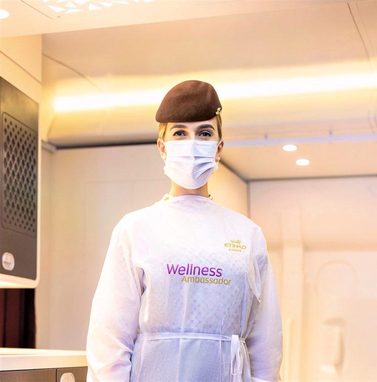Etihad Airways lancia il programma di misure igienico-sanitarie