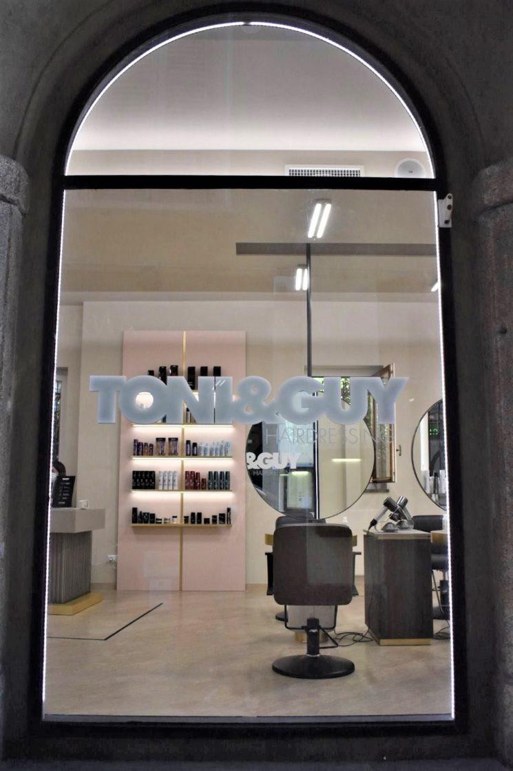 Nuovo salone Toni&Guy a Milano