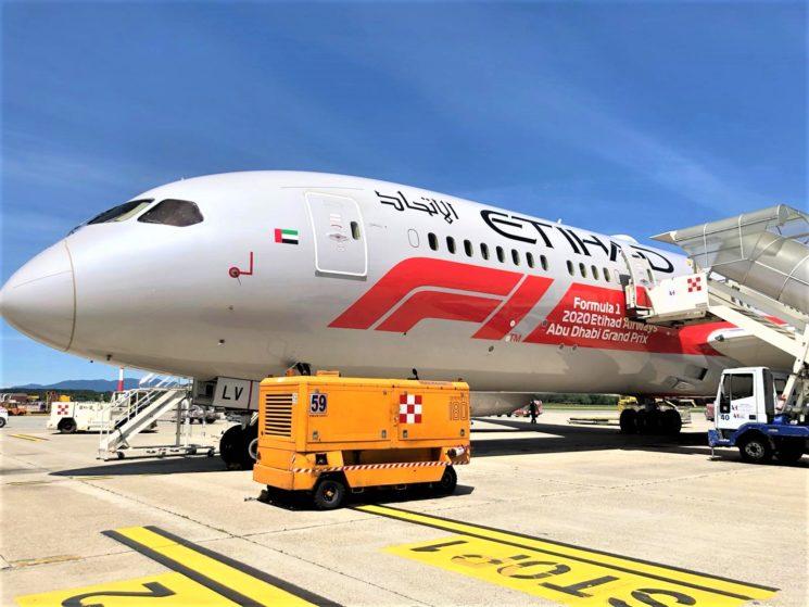 Etihad Airways opera voli speciali per l'Italia