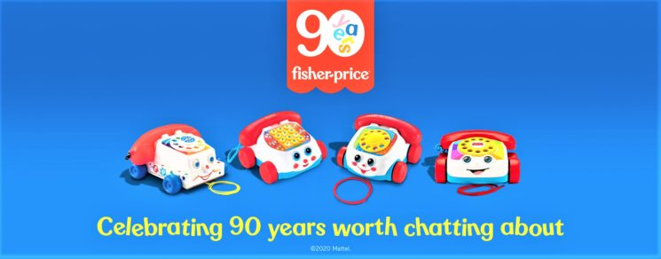 Fisher-Price compie 90 anni