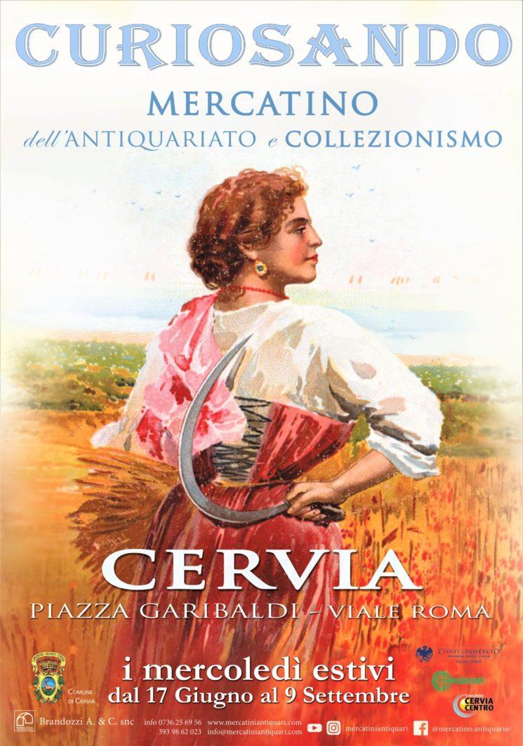 """""""Curiosando"""", mercatino dell'antiquariato e collezionismo a Cervia"""