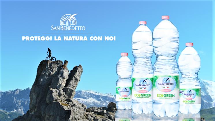 Acqua Minerale San Benedetto: on air la nuova campagna