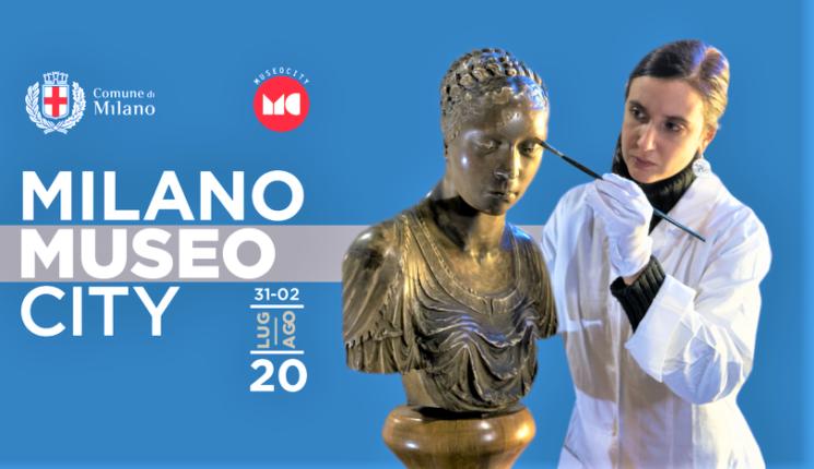 Milano MuseoCity 2020 dal 31 luglio al 2 agosto