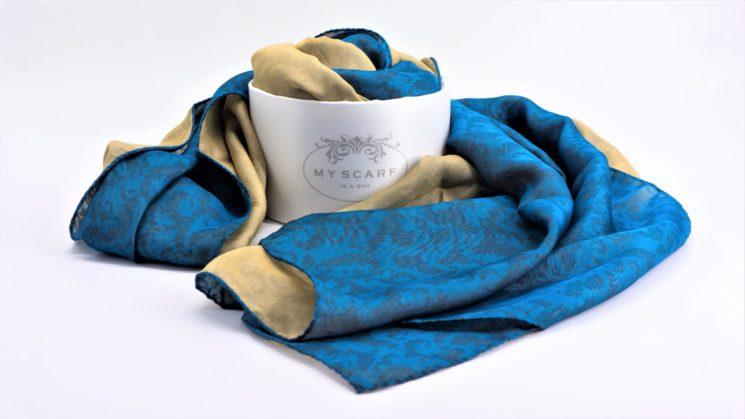 My Scarf in a Box: la sciarpa Portocervo