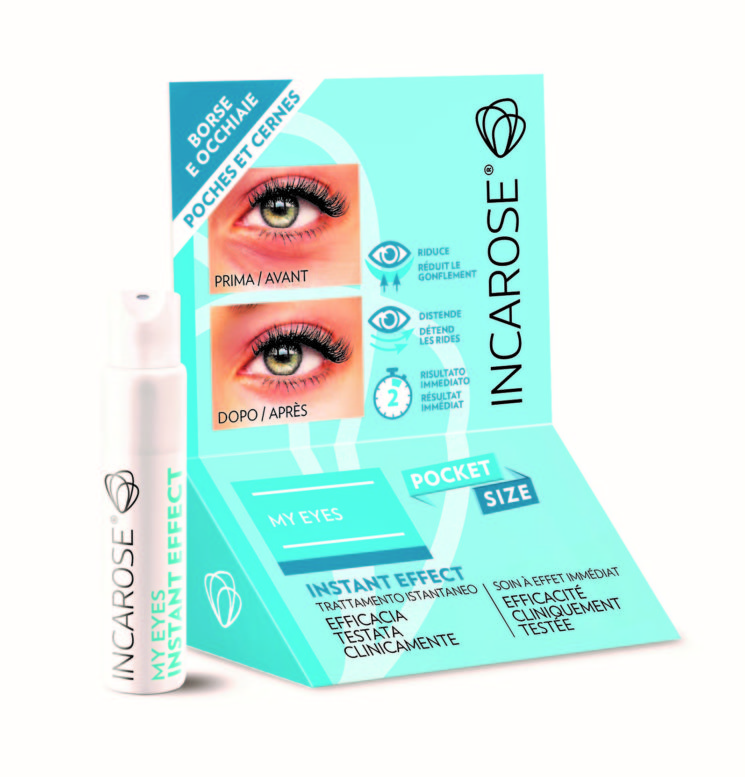 Incarose: My Eyes Instant Effect pocket size per il contorno occhi