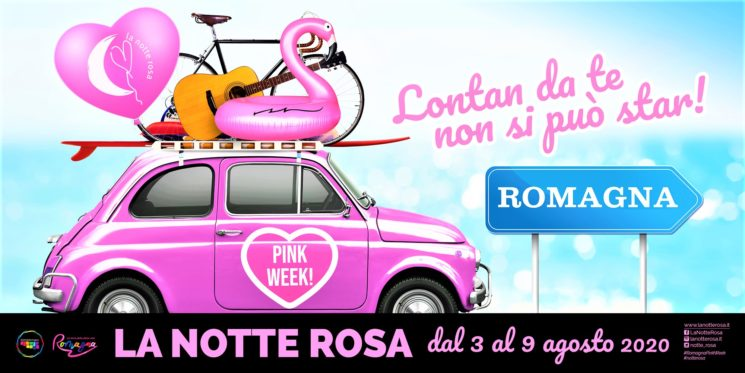 La Notte Rosa diventa Pink Week. In Romagna dal 3 al 9 agosto