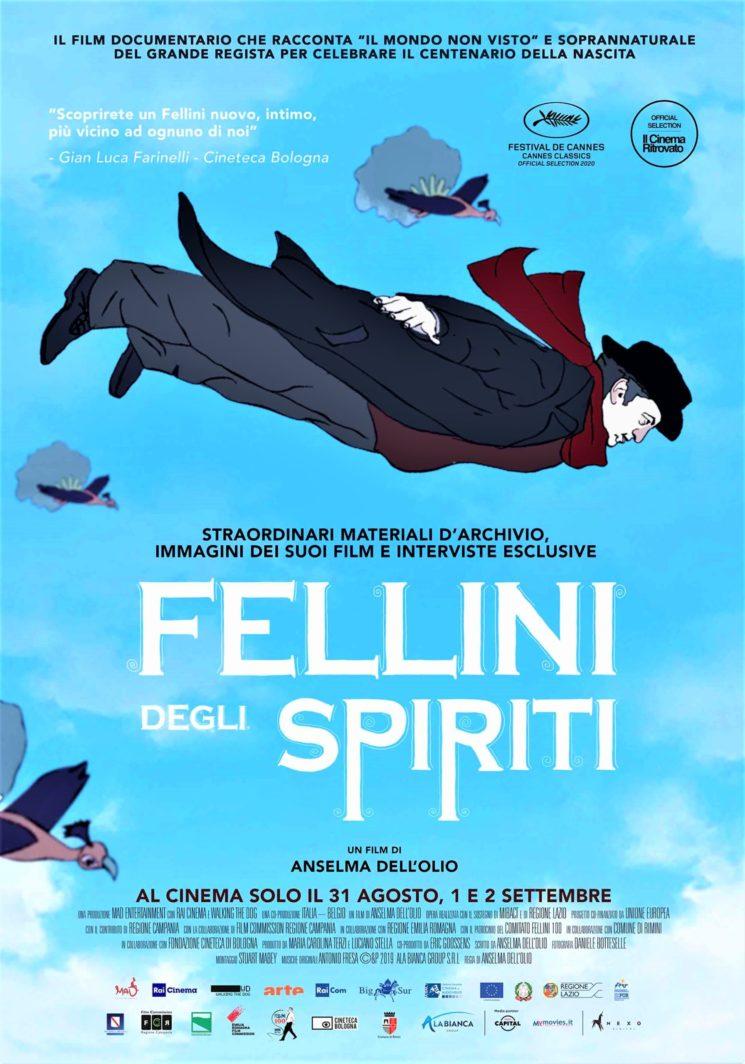"""""""Fellini degli Spiriti"""" di Anselma Dell'Olio in anteprima al Festival il Cinema Ritrovato"""
