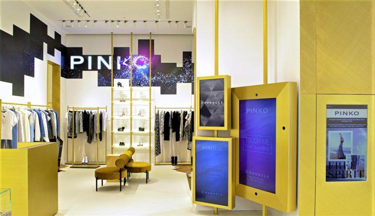 Da Pinko nuove emozioni per gli acquisti con iMonocle
