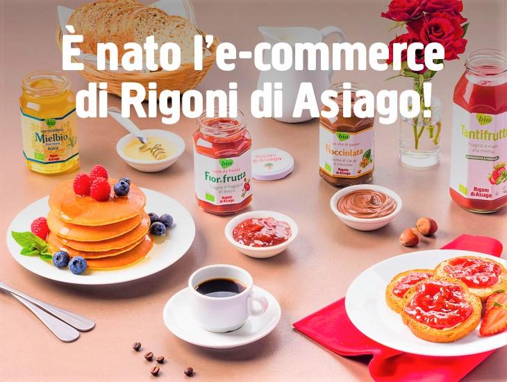 Lo store online di Rigoni di Asiago è ora realtà