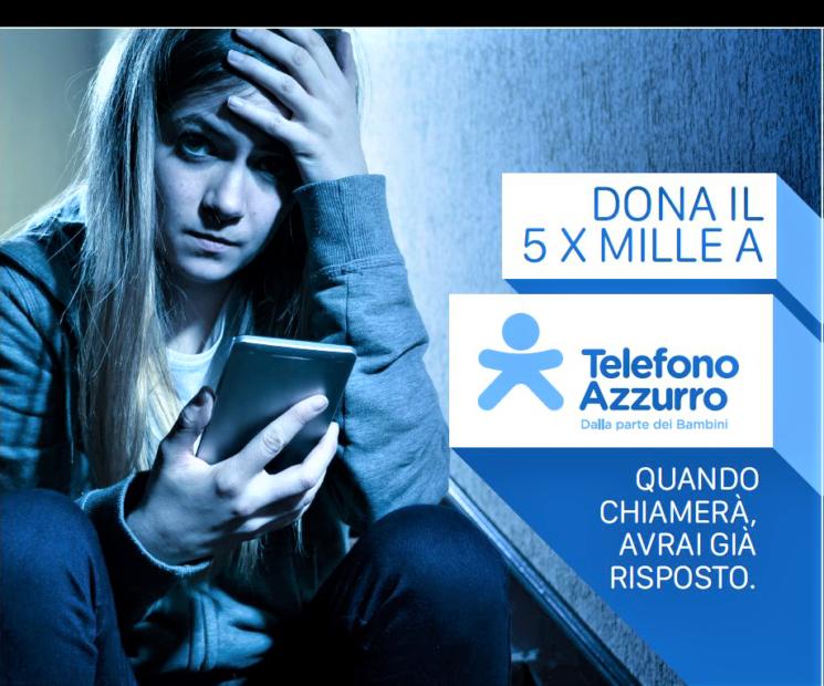 Telefono Azzurro sceglie AND EMILI per la Campagna 5 per mille