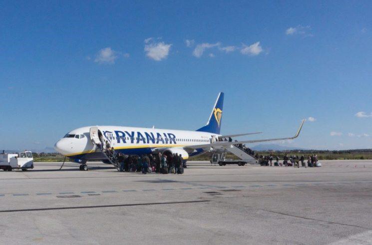 Aeroporto di Trapani: a rischio l'accordo con Ryanair a causa dei comuni