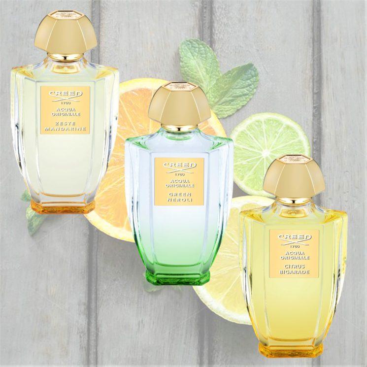 Creed: intense e essenziali le Eau de Parfum Acqua Originale