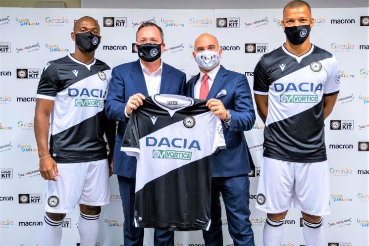 Partnership consolidata di Udinese Calcio con Vortice