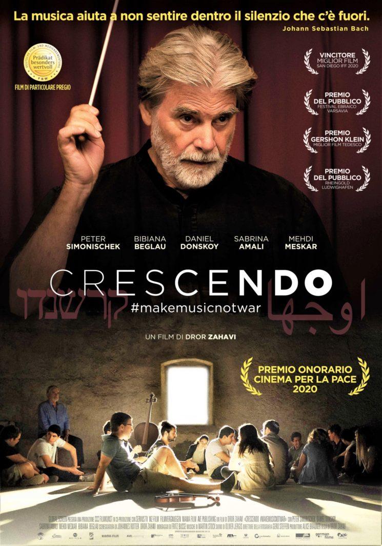 CRESCENDO #makemusicnotwar, un film di Dror Zahavi