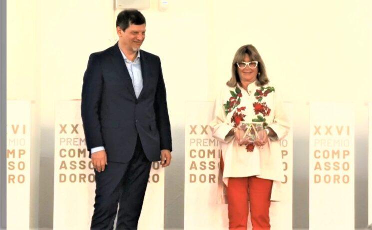 A Gilda Bojardi, direttrice di Interni, il Premio Compasso d'Oro alla Carriera
