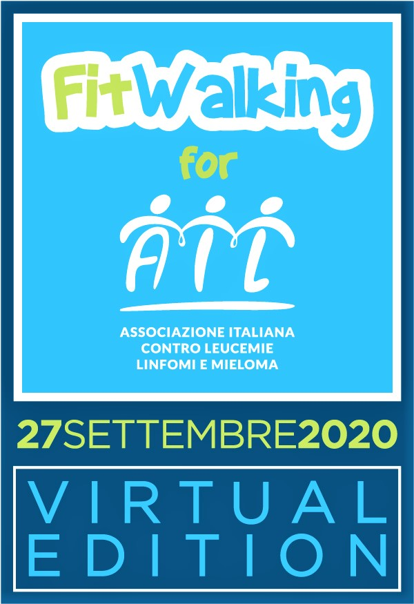 Fitwalking for AIL domenica 27 settembre 2020