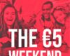 Super promo Alcott: The €5 Weekend !
