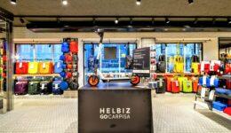 Nuovo megastore Carpisa e Go Carpisa a Milano. Siglata partnership con Helbiz