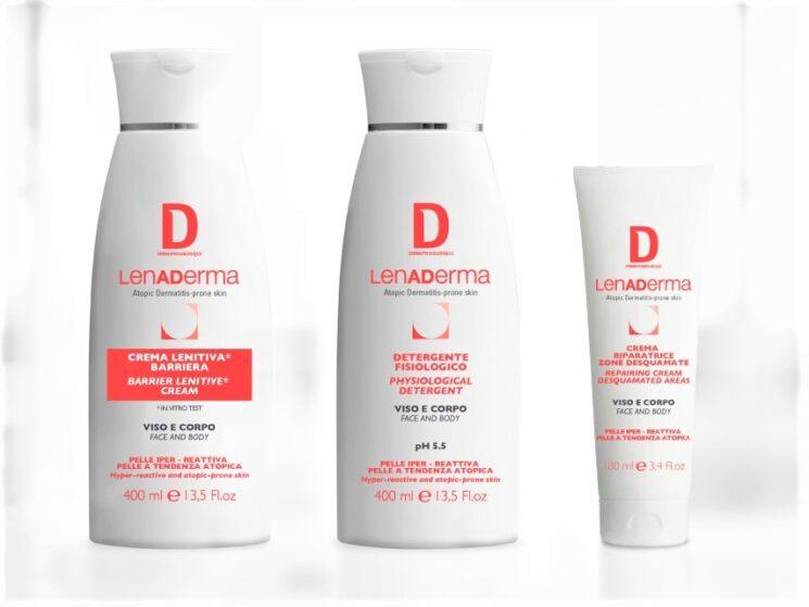 LENADERMA di Dermophisiologique contro i danni cutanei da DPI