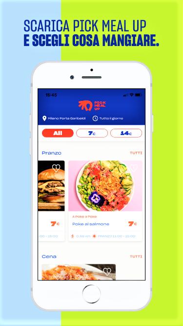 Pick Meal Up: grande successo della nuova app che rivoluziona il Take Away