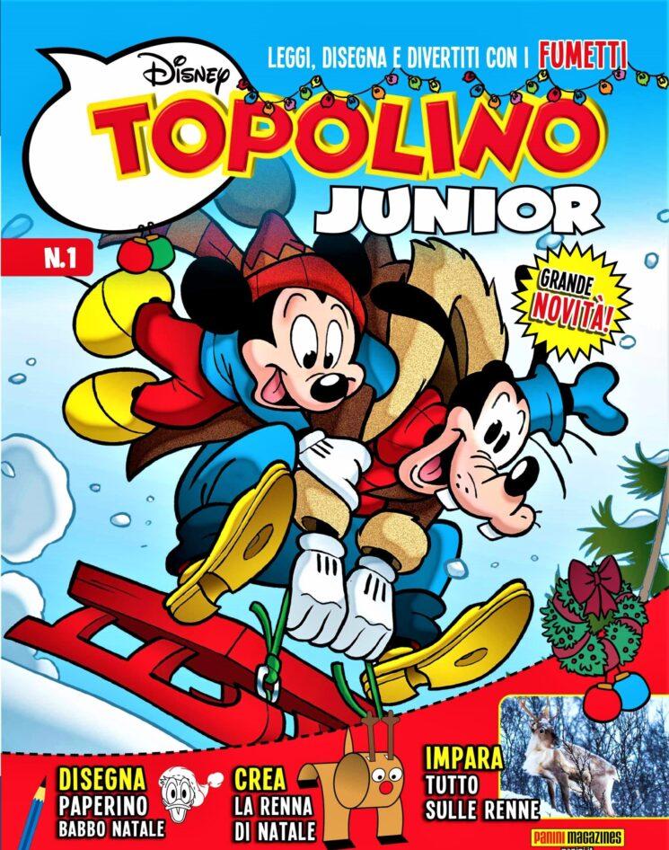 Topolino Junior in edicola dal 20 novembre