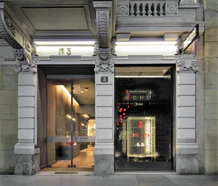 Fiam Italia, Marcel Wanders Studio e Salvioni Milano Durini protagonisti della collezione Echo in Italia