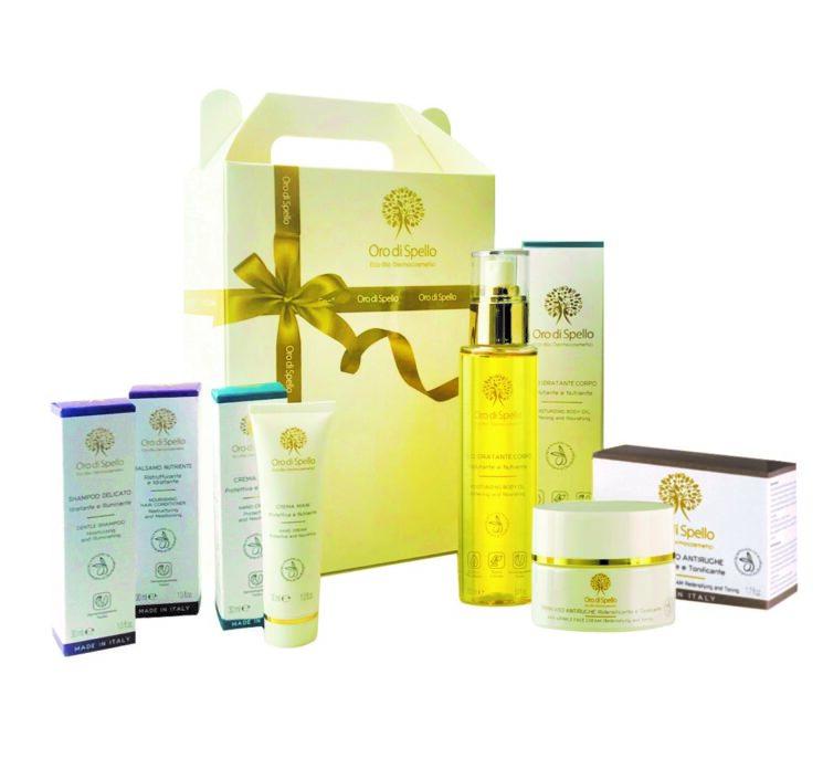 """Oro di Spello: Gift Box """"Bellezza d'Oro"""", il regalo da chiedere a Natale"""