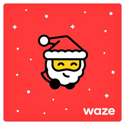 Waze: allegro e festoso il nuovo tema natalizio