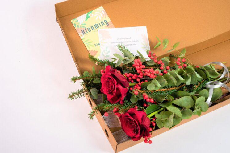 Per Natale i FlowerBox di Blooming Milano