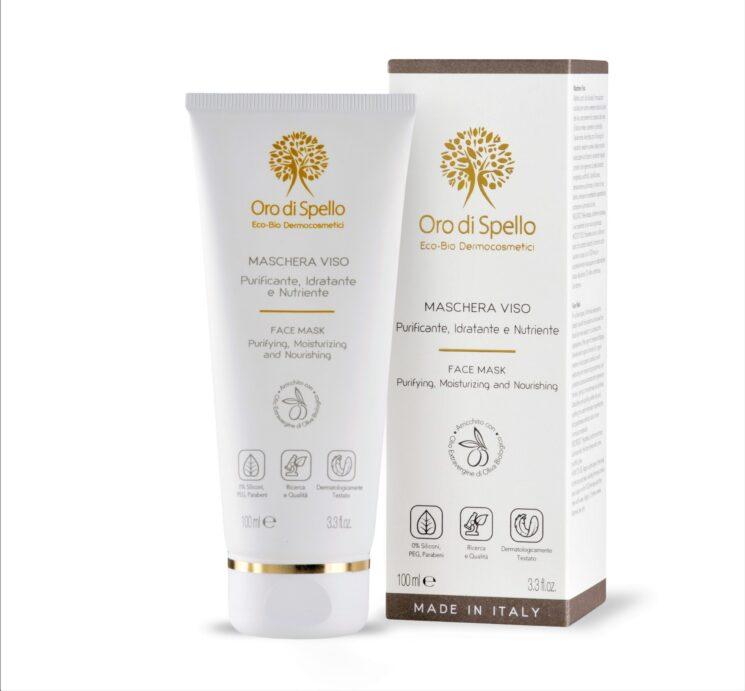 Oro di Spello: Maschera Viso Purificante, Idratante e Nutriente per cominciare l'anno in bellezza