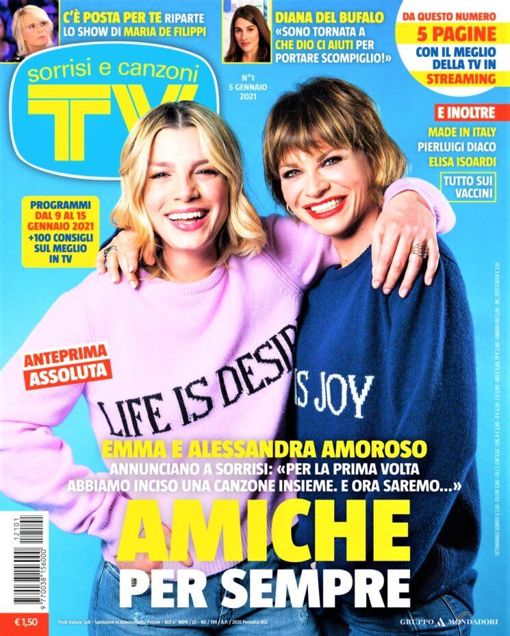 TV Sorrisi e Canzoni: Emma e Alessandra Amoroso insieme in duetto