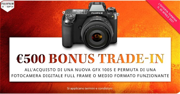 FUJIFILM GFX100S Promo Trade-In