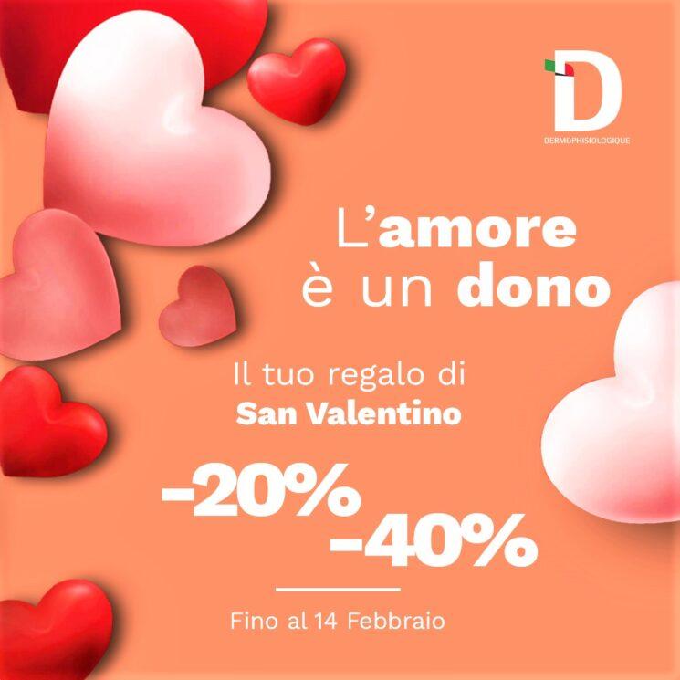Festeggiamo l'amore con Dermophisiologique: promozione speciale per San Valentino