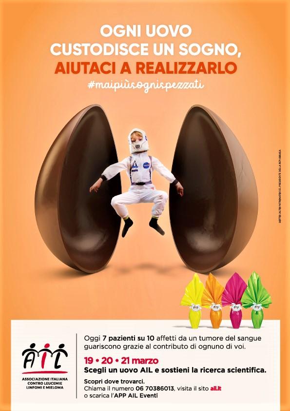 Uova di Pasqua AIL 28ª edizione dal 19 al 21 marzo