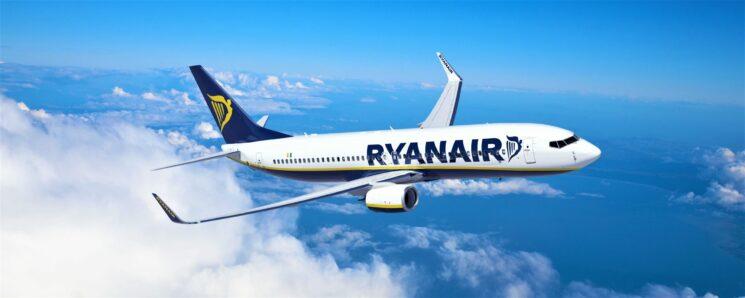 Ryanair amplia la presenza a Trapani con 6 nuove rotte per l'estate 2021