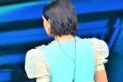 Finale del Festival di Sanremo: l'hairlook by Cotril di Francesca Michielin