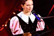 Hair Cotril per Francesca Michielin alla sua seconda esibizione al Festival di Sanremo