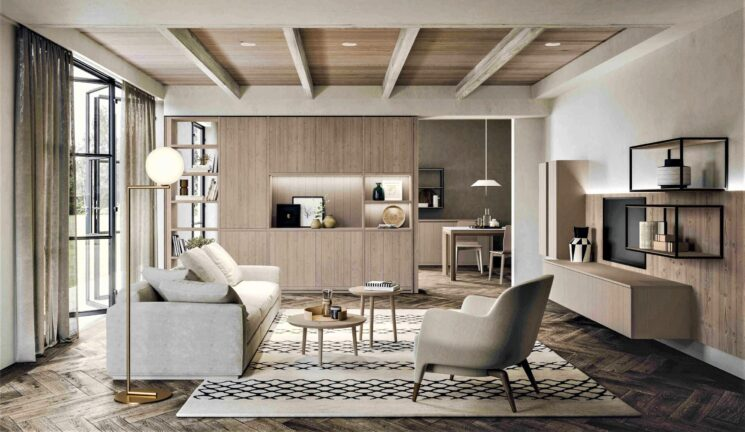 Scandola Mobili presenta la casa in stile scandinavo