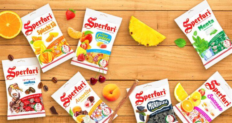 Sperlari: eliminata la gelatina animale da tutte le sue caramelle Made in Italy