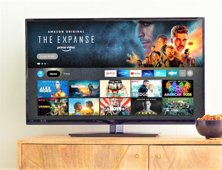 Novità Fire TV: una nuova interfaccia Fire TV