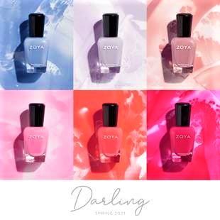 Darling, la nuova, incantevole collezione di smalti Zoya