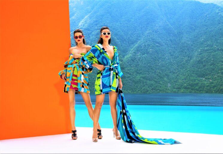 A tutto glamour la collezione Carrara per l'estate 2021