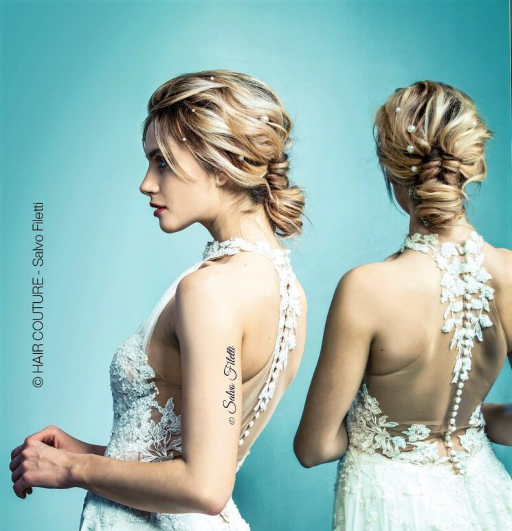 Salvo Filetti Haircouture: collezione Dreaming Butterfly dedicata alla sposa