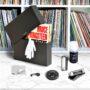 Vinyl Kit Deluxe di Meliconi, kit di pulizia per la manutenzione dei vinili