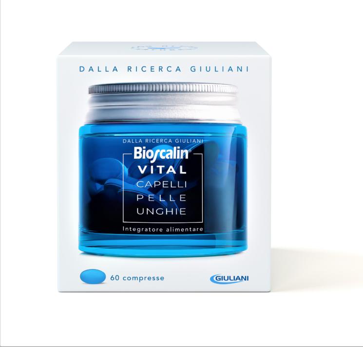 """Nuovo Bioscalin Vital Capelli Pelle Unghie, l'integratore alimentare che abbellisce """"da dentro"""""""